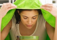 Очищение кожи лица: паровые ванны