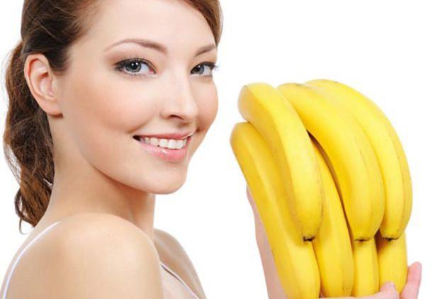 Маска для лица из банана и сметаны