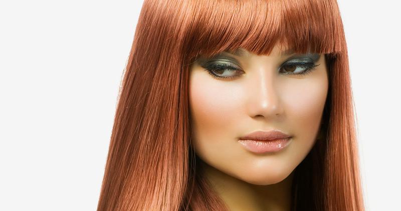 Как делают глянцевание волос
