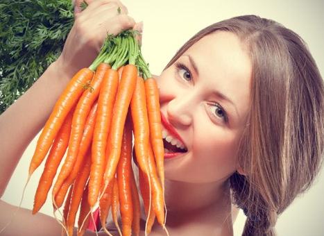 Морковная маска и ее польза для кожи