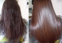 Основные способы выпрямления волос