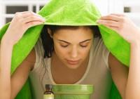 Паровые ванны помогут в уходе за кожей лица