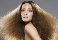 Ухаживаем за сухими кончиками волос