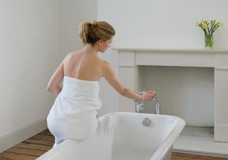 Ванна с содой поможет избавиться от лишних килограммов