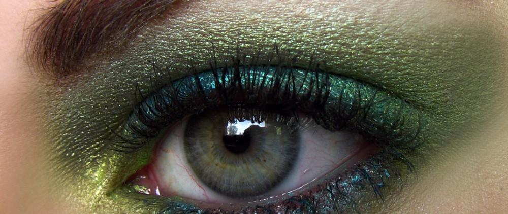 Выбираем макияж для зеленых глаз