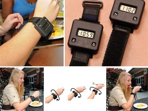 Создан браслет для контроля за количеством съеденной пищи