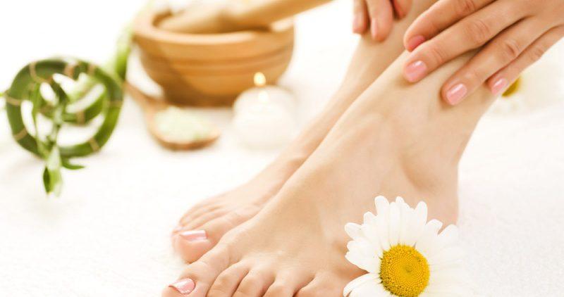 Особенности ухода за кожей ног