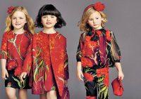 Цвет детской одежды