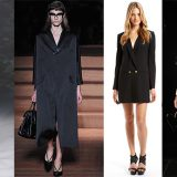 Платье-фрак — женственный тренд