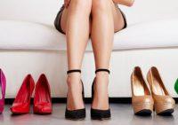 Правила выбора женской обуви в интернете