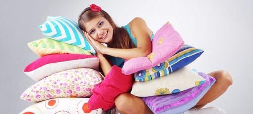 Какая подушка предотвратит появление морщин