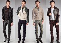 Кожаные куртки для мужчин на осенний сезон