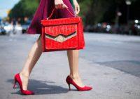 Вызывающие красные туфли