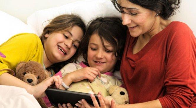 Детям надо активнее читать электронные книги