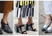 Женская обувь ковбойского типа снова в моде