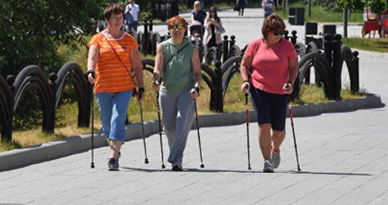 Час движения в день защищает от набора веса женщин среднего возраста и старше