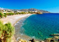 Курортная зона Лассити в Греции