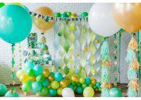 Стильные воздушные шары. Украшение на праздник.