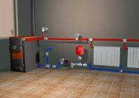 Система отопления дома с насосом
