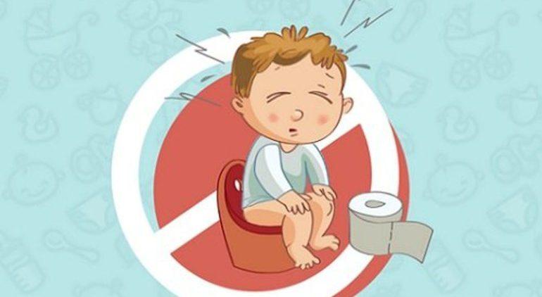 Причина запоров у детей. Лечение запоров у детей