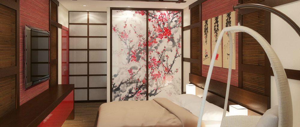 Спальня в японском стиле – это реально