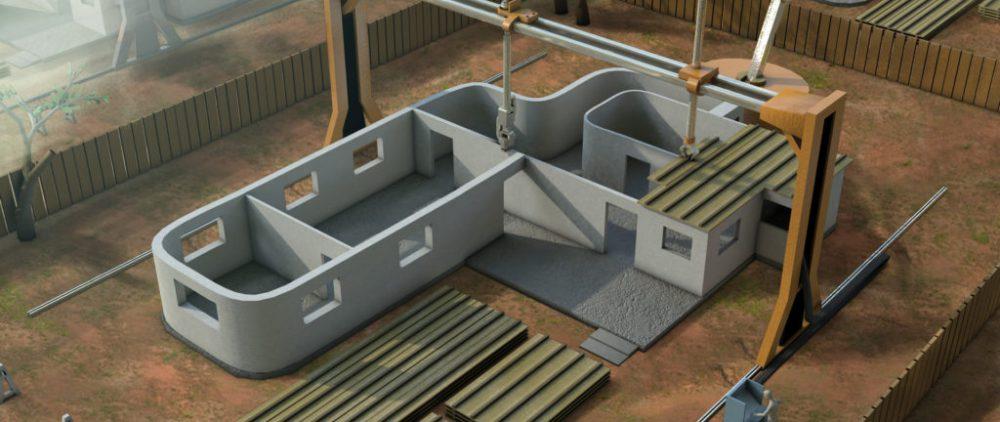 Аддитивные технологии в строительстве
