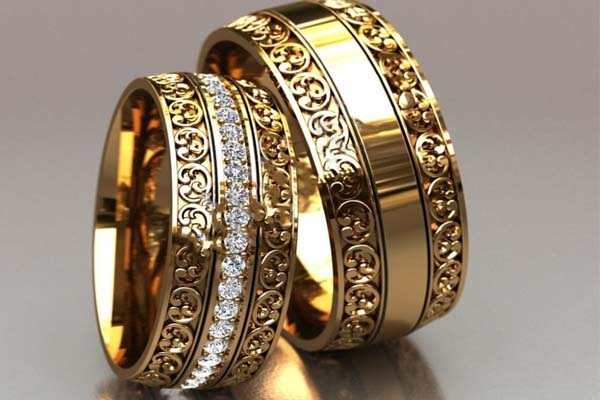 Какие бывают обручальные кольца