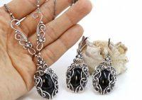 Уникальные ювелирные украшения из серебра