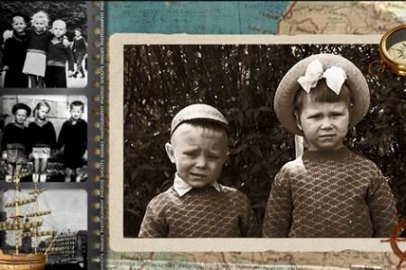 Видеоальбом из фотографий — хорошее поздравление на юбилей