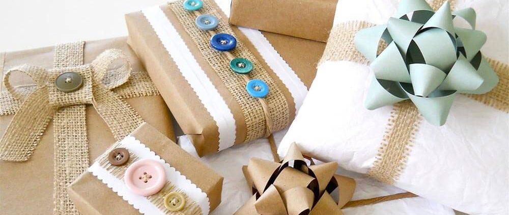 Этикет упаковки подарков