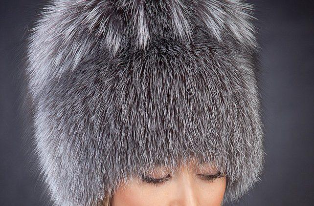 Женские шапки из меха норки