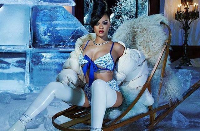Модный дайджест: от новогодней кампании с Рианной до вечерней коллекции Ulyana Sergeenko