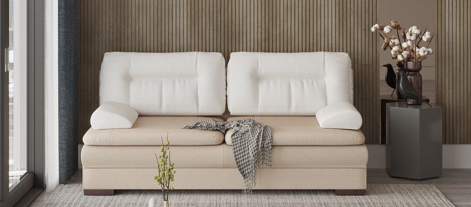 Двухместный диван в интерьере