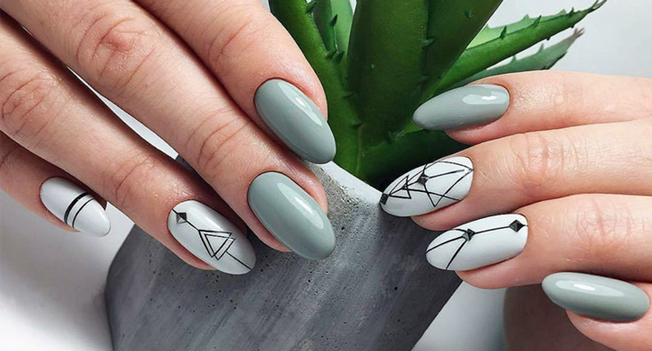 Модные цвета лаков для ногтей в 2021