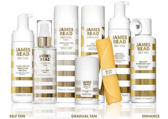 Особенности косметики от James Read