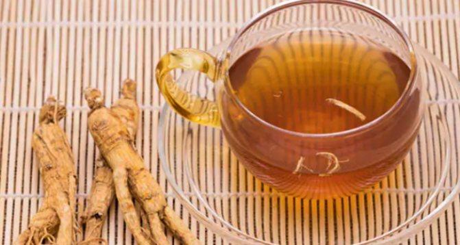 Польза чая с женьшенем для здоровья