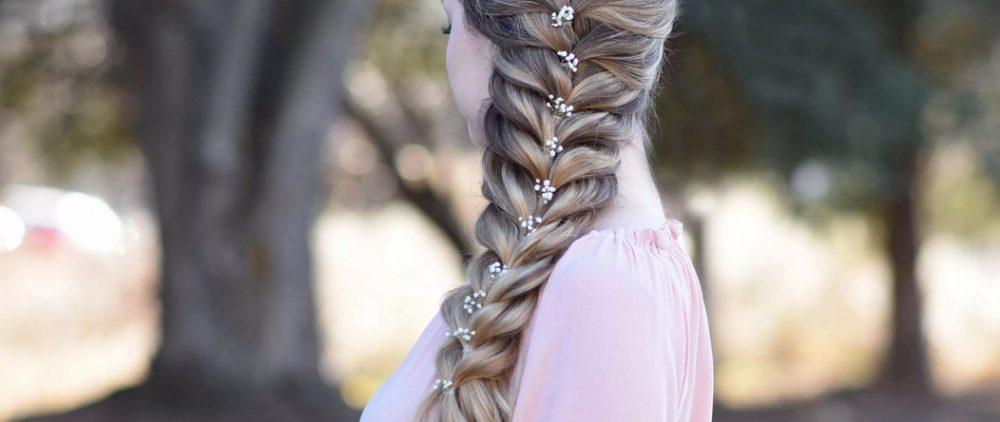 Как заплести красивую объемную косу