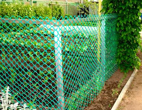 Преимущества использования пластиковой сетки