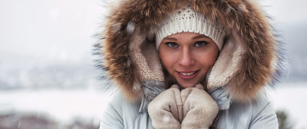 Что происходит с кожей, когда вы выходите на улицу в мороз?