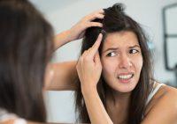 Основные причины появления седых волос