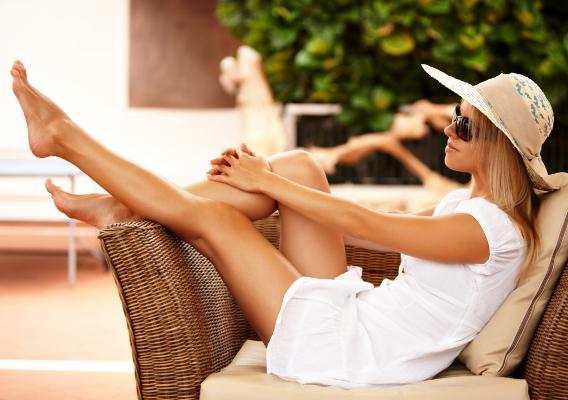 Парафинотерапия для ног: тепло и легкость