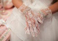 Как подобрать свадебные перчатки?