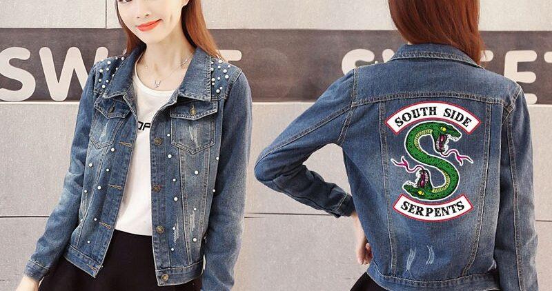 Новый взгляд на джинсовую куртку