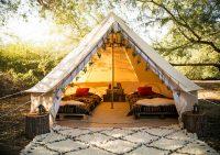 Активный отдых с туристической палаткой на грани экстрима. Камчатка