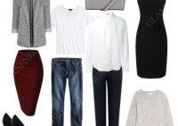 Базовый набор женского гардероба