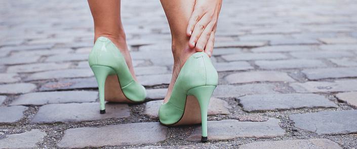 Высокие каблуки как «модное» вредительство