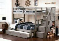 Как выбрать двухэтажную кровать в детскую для мальчиков